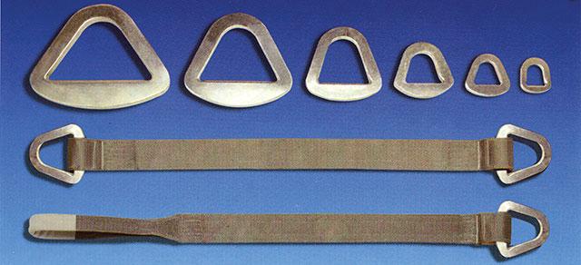Triangoli pantografati per nastri di sollevamento
